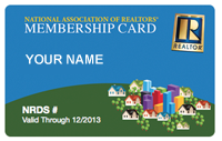 Realtor® Membership Card