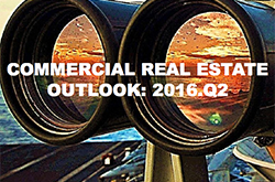 Cover of Commercial RE Outlook 2016 Q@
