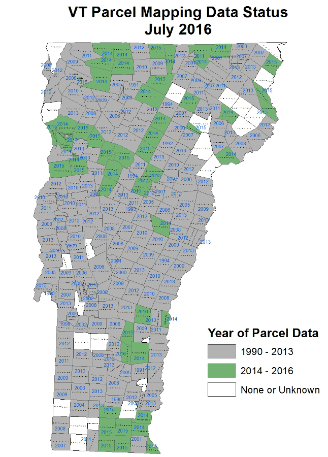 Vermont Statewide Property Parcel Mapping Program – Vermont